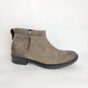 NEW UGG Attell Waterproof Ankle Zip Boot Brown 6.5